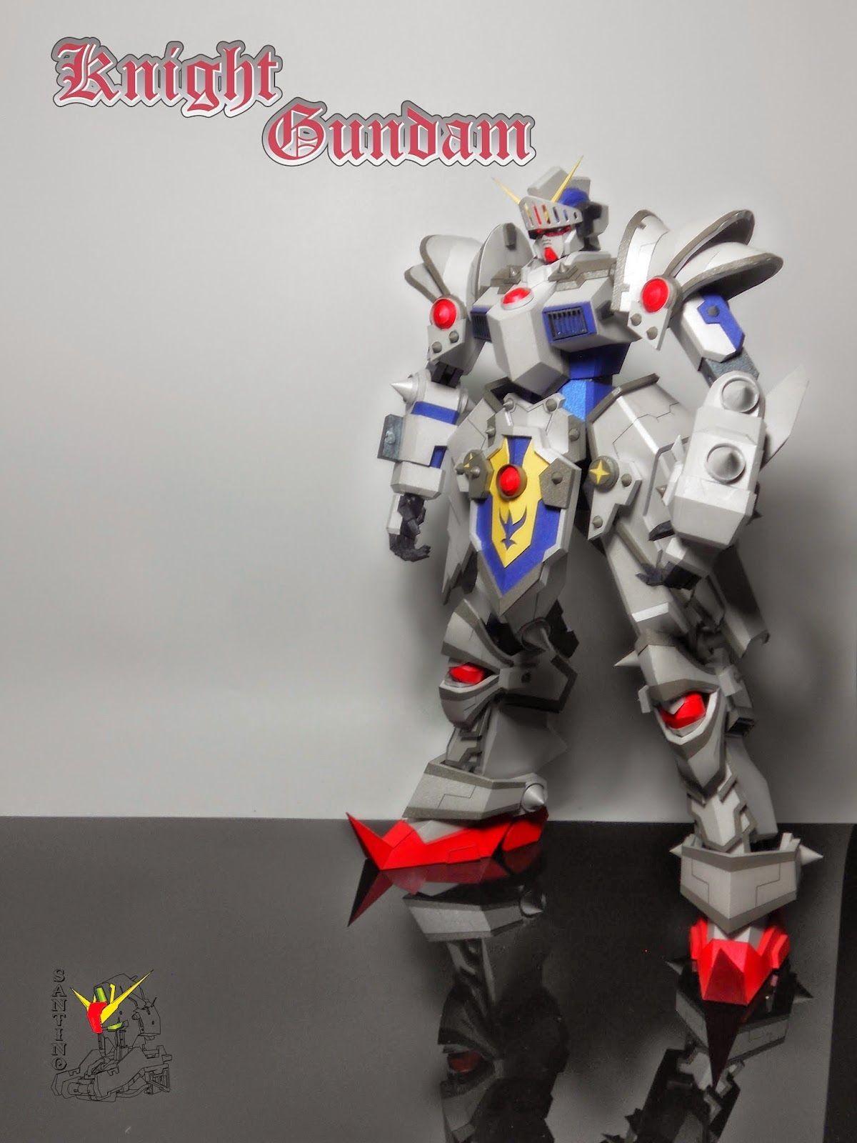 Papercraft Gundam Wn 01 Gundam Ver 2 Free Papercraft Download