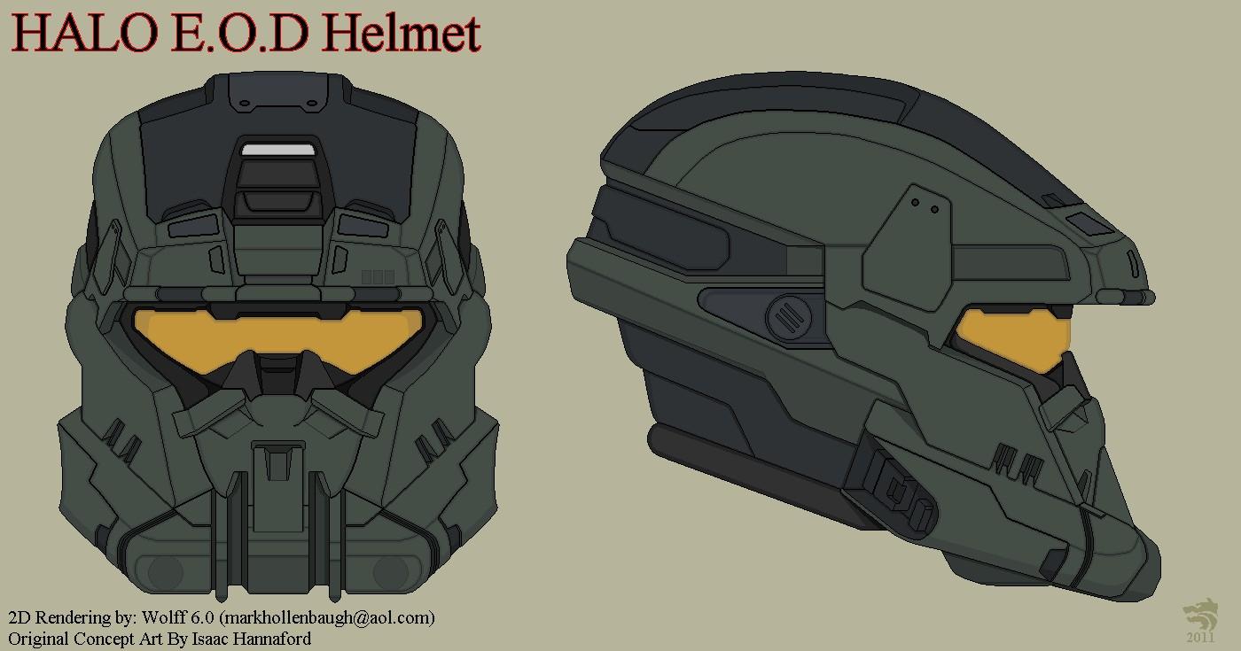 Papercraft Halo Helmet Halo Eod Helmet Photo Haloeodhelmet Armor Pinterest