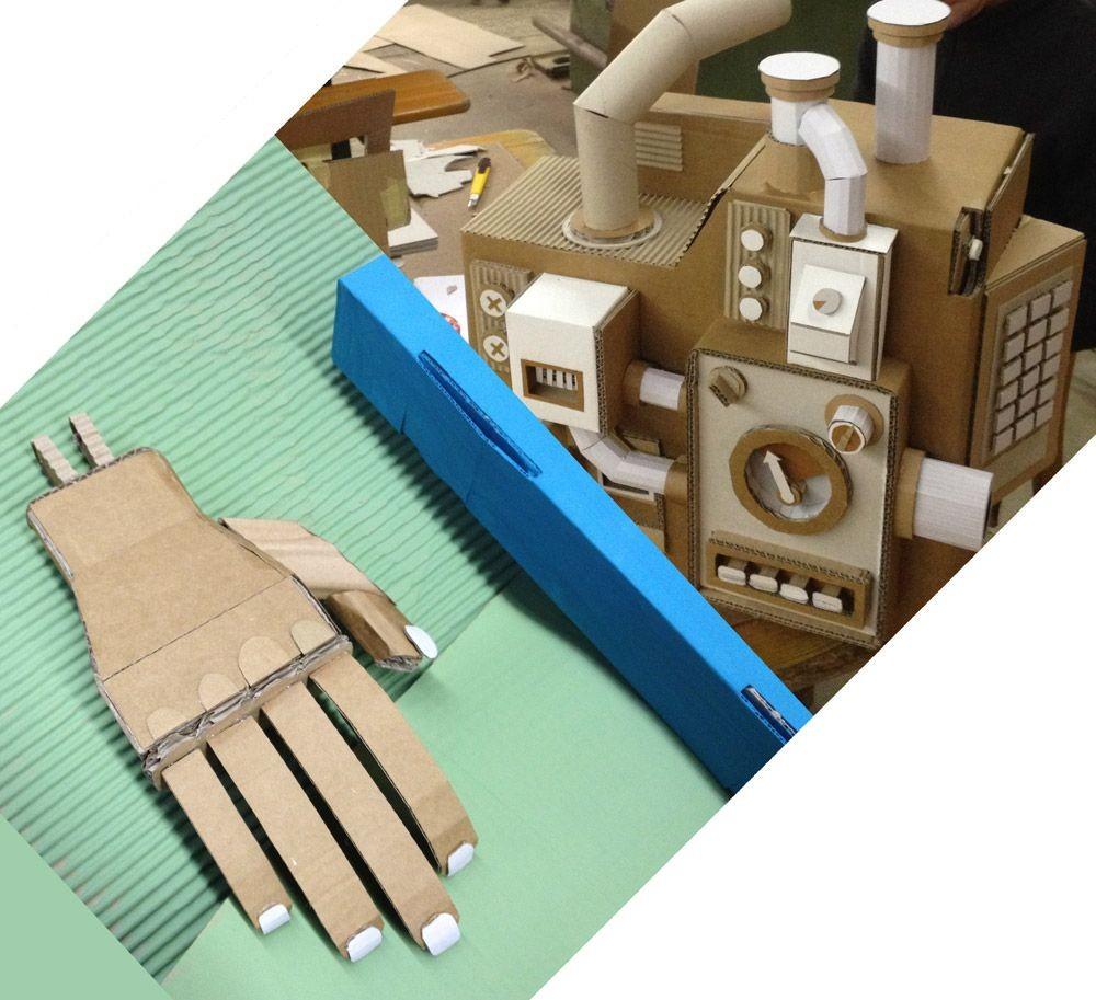 Papercraft Hand Sarah Gasser Papierschreinerin Schweiz