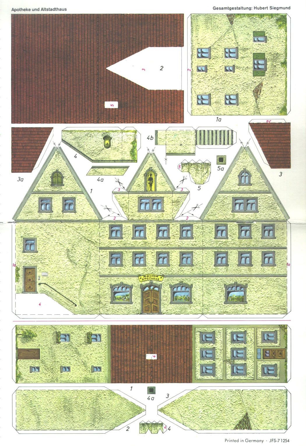 Papercraft Houses 1981 19 Bb 04 1 050—1 533 Pxeles
