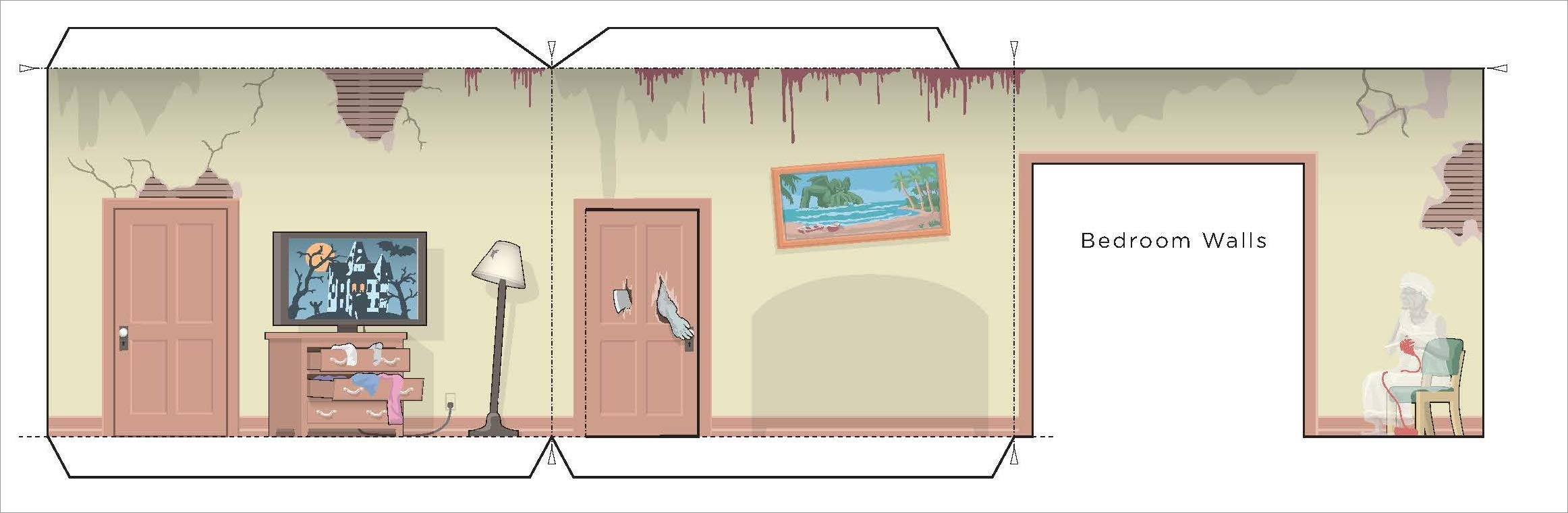 Papercraft Houses Haunted House Easy to Make Papercraft