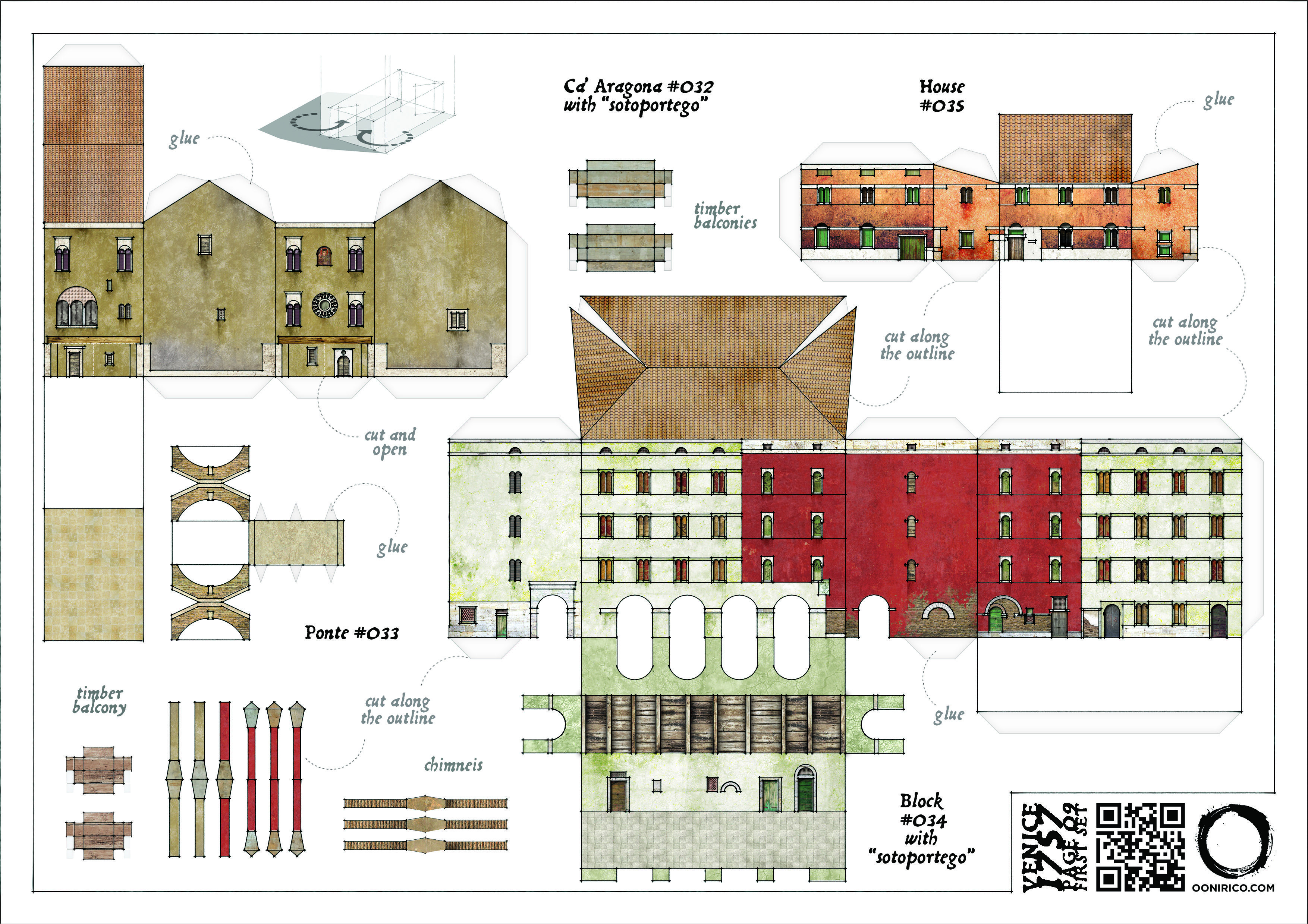 Papercraft Houses Papercraft Houses Download Free