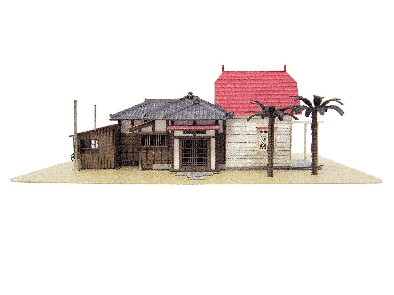 Papercraft Houses Studio Ghibli My Neighbor totoro Kusakabe House Paper Craft Kit 1