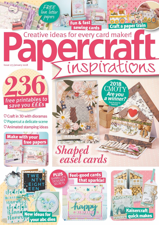 Papercraft Inspirations Papercraft Inspirations Magazine issue 173