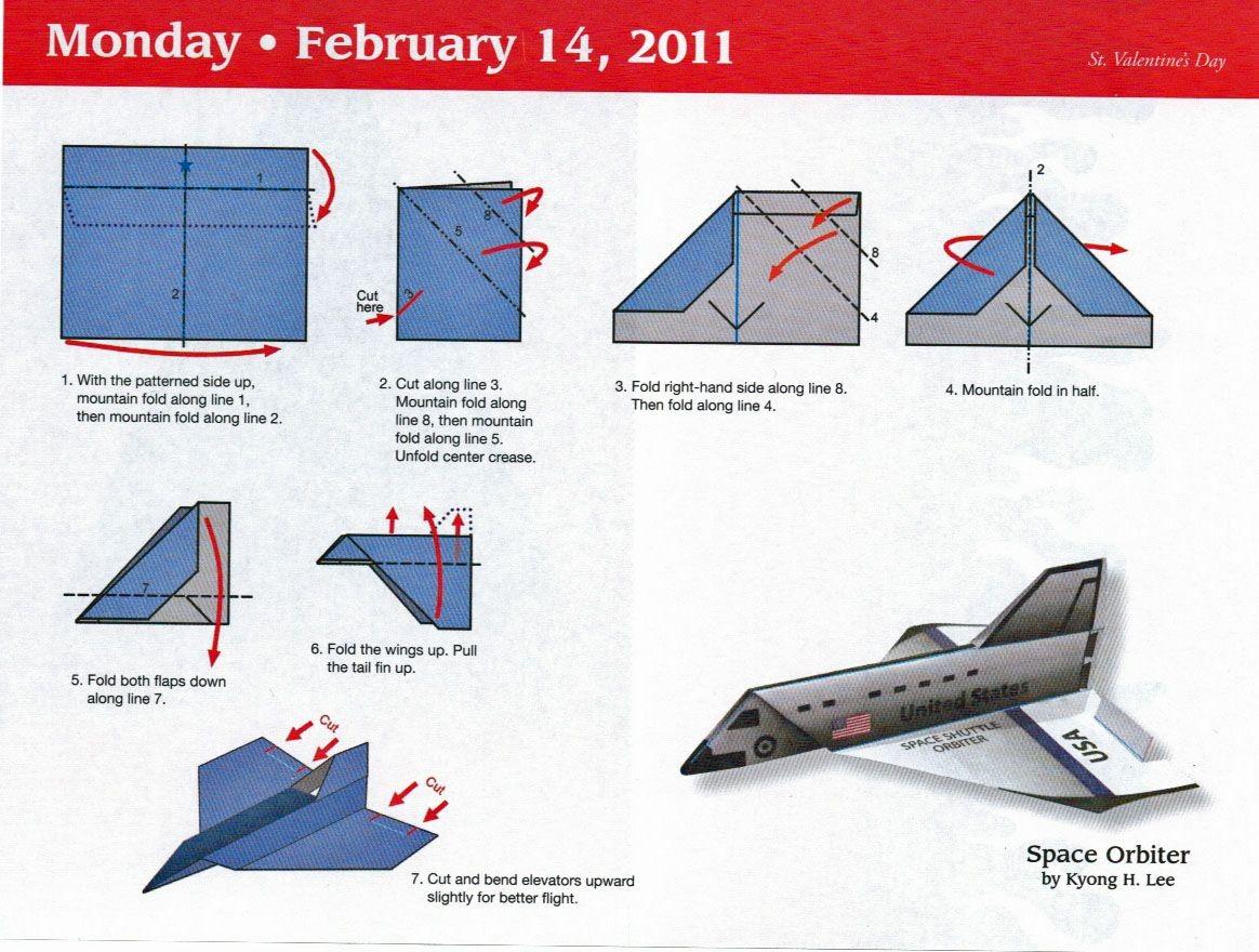 Papercraft Jet Best Paper Plane Folding Instructions Google Keresés