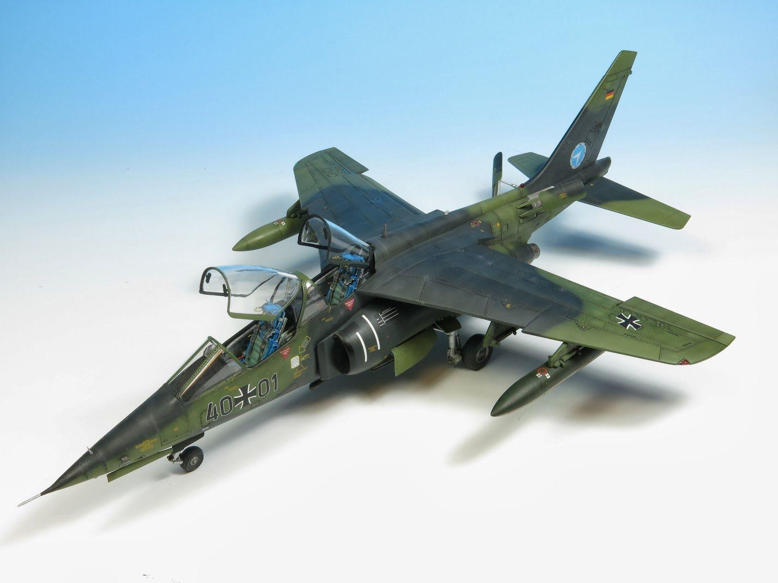 Papercraft Jet Dassault Dornier Alpha Jet 1 48 Scale Model
