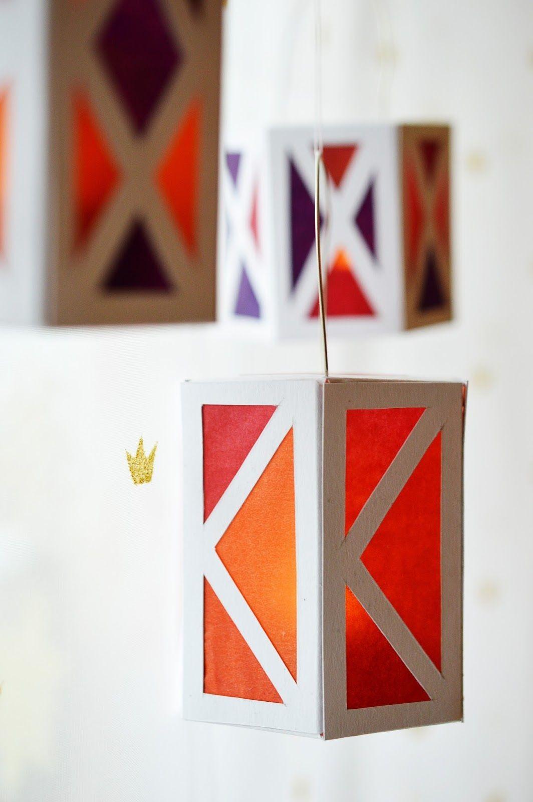Papercraft Lantern Holiday Celebrations Diy Paper Lanterns Diy Pinterest
