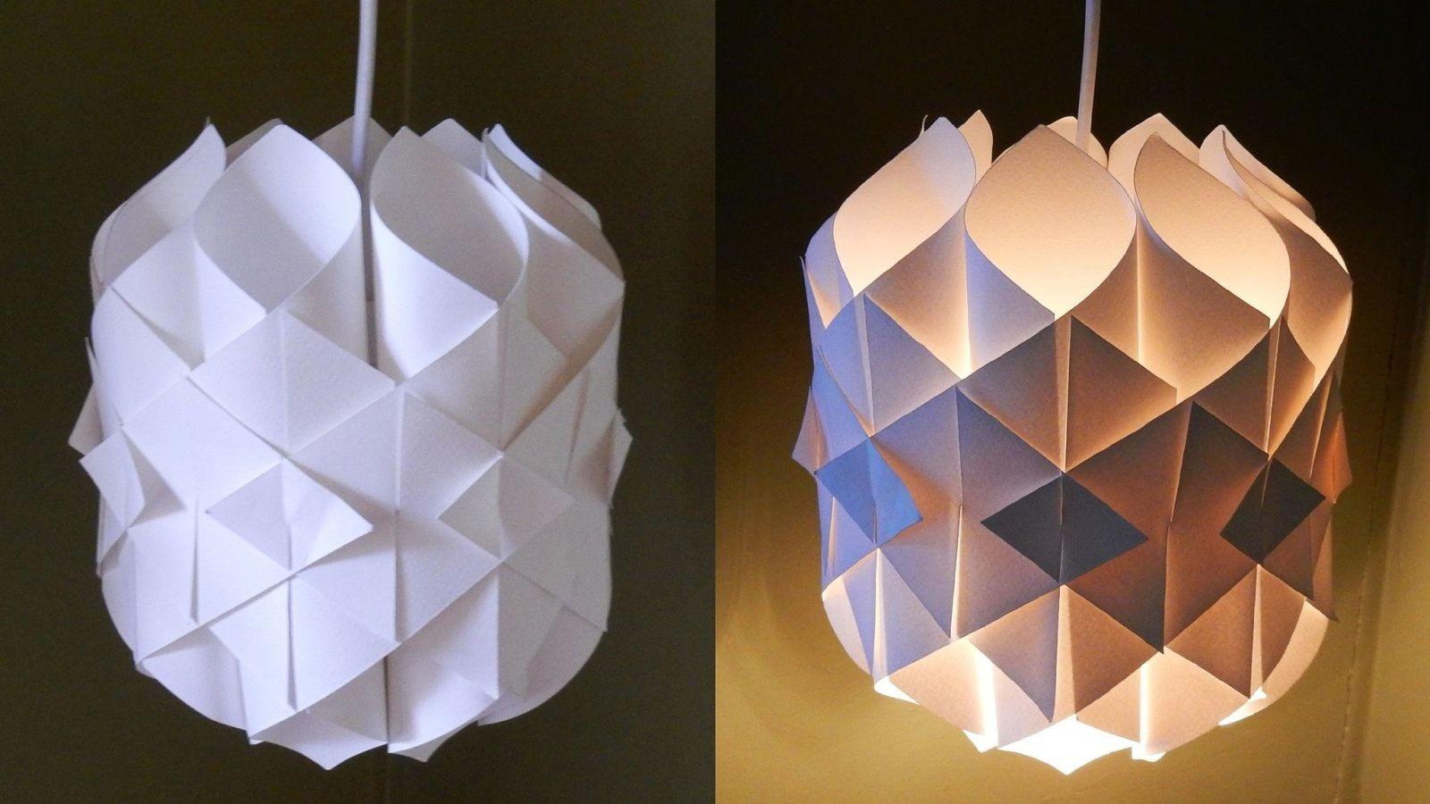 Papercraft Lantern Tips & Trics Deze Papieren Lamp Vouw Je Gemakkelijk Zelf