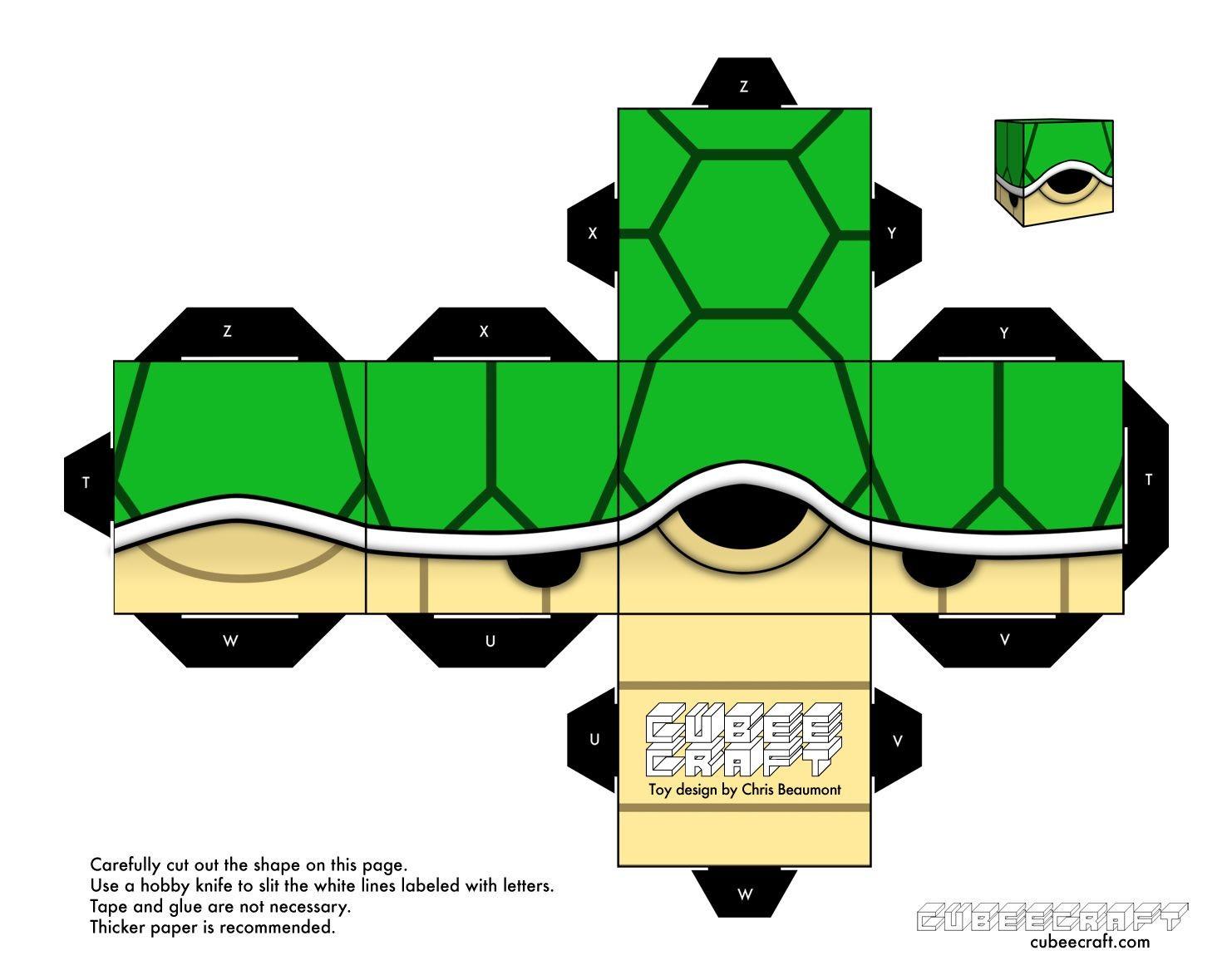 Papercraft Mario Kart Fa§a Vocª Mesmo Paper toy Mário Bross Aviµes De Papel