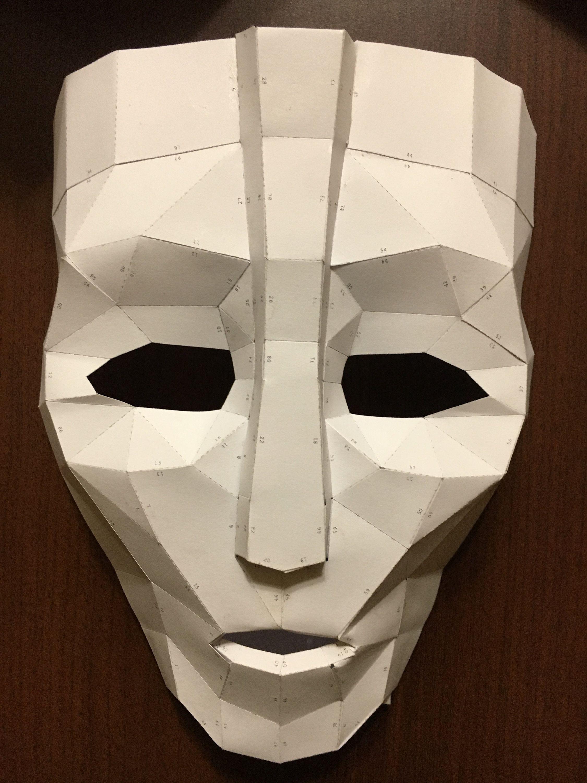 Papercraft Mask Loki Mask Diy Papercraft Model Бумажные издеРия