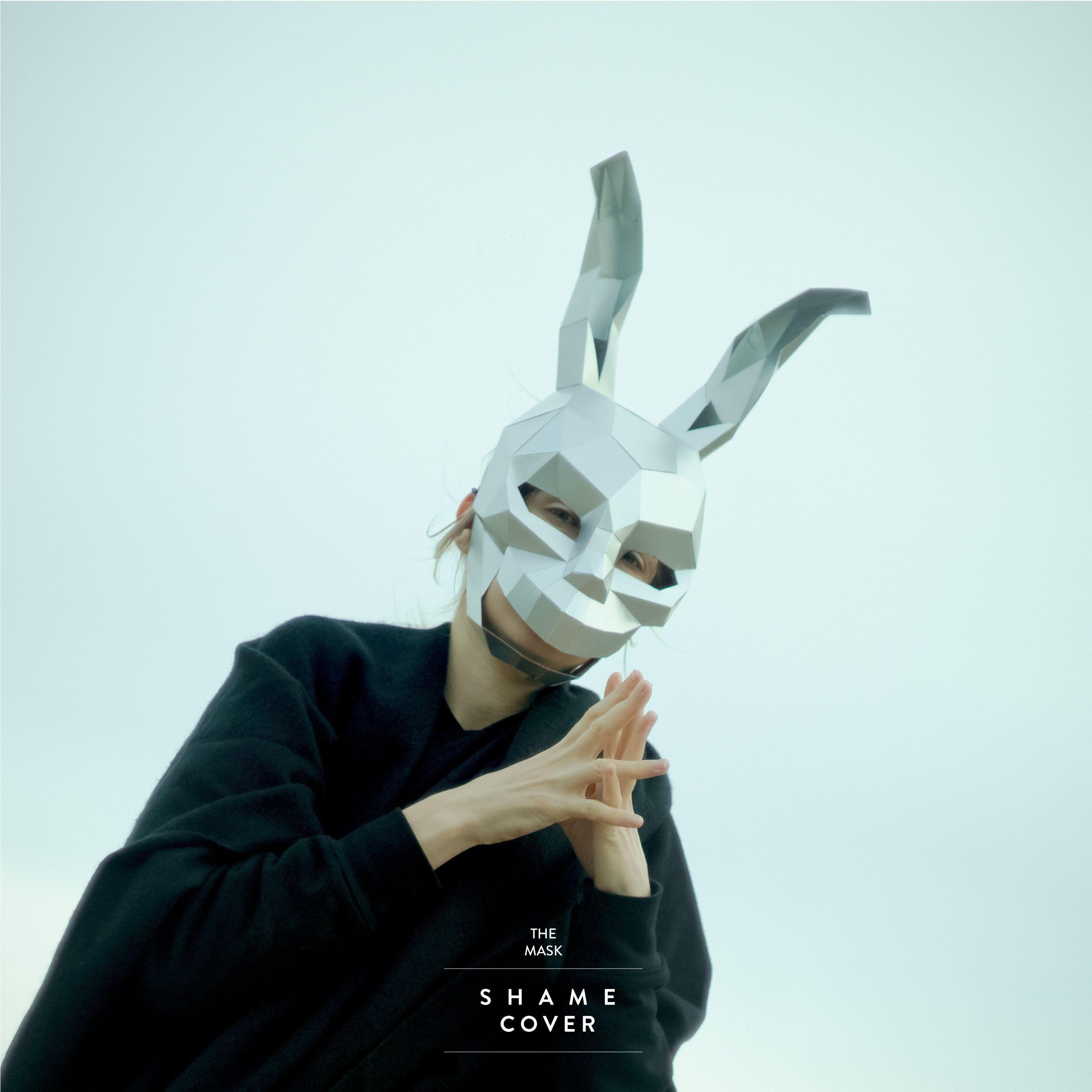 Papercraft Masks Frank Rabbit Mask Donnie Darko Mask Hare Mask Diy 3dmask Pdf Paper