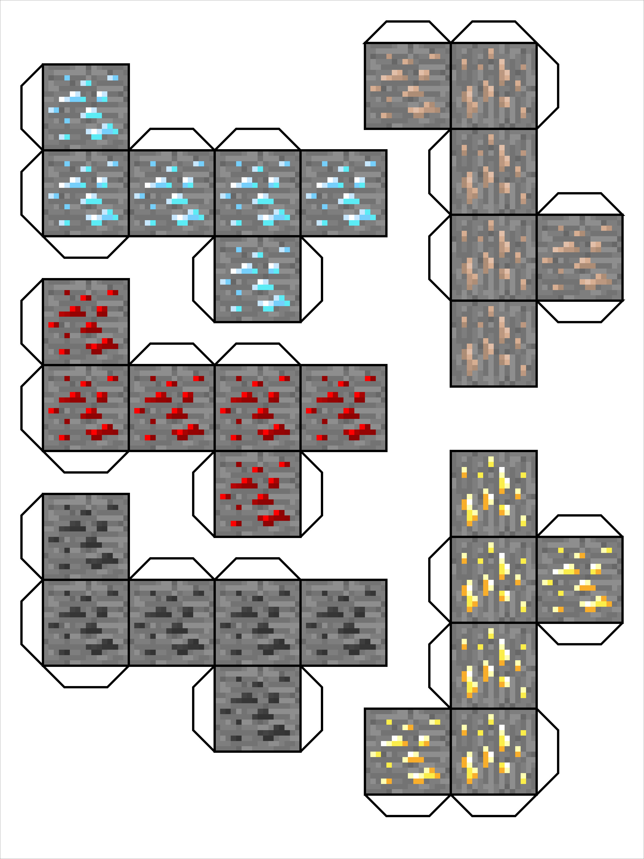 Papercraft Minecraft Skins Minecraft Papercraft Skins Template