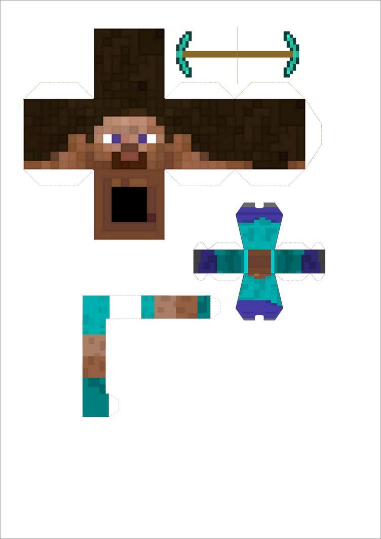 Papercraft Minecraft Skins Minecraft Papercraft Steve