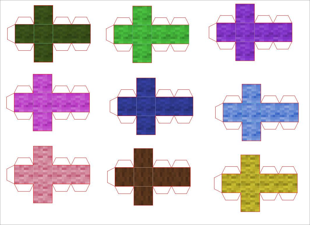 Papercraft Minecraft Skins Papercraft Templates Minecraft