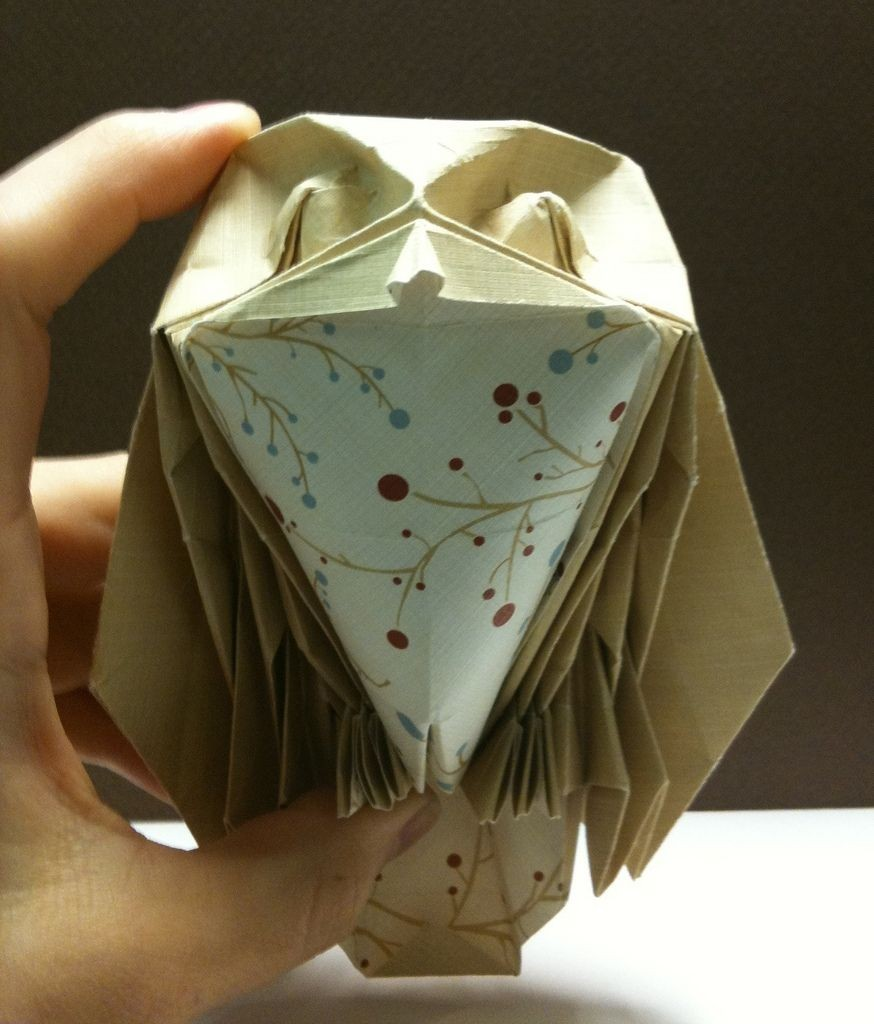 Papercraft Owl Joseph Wu Owl