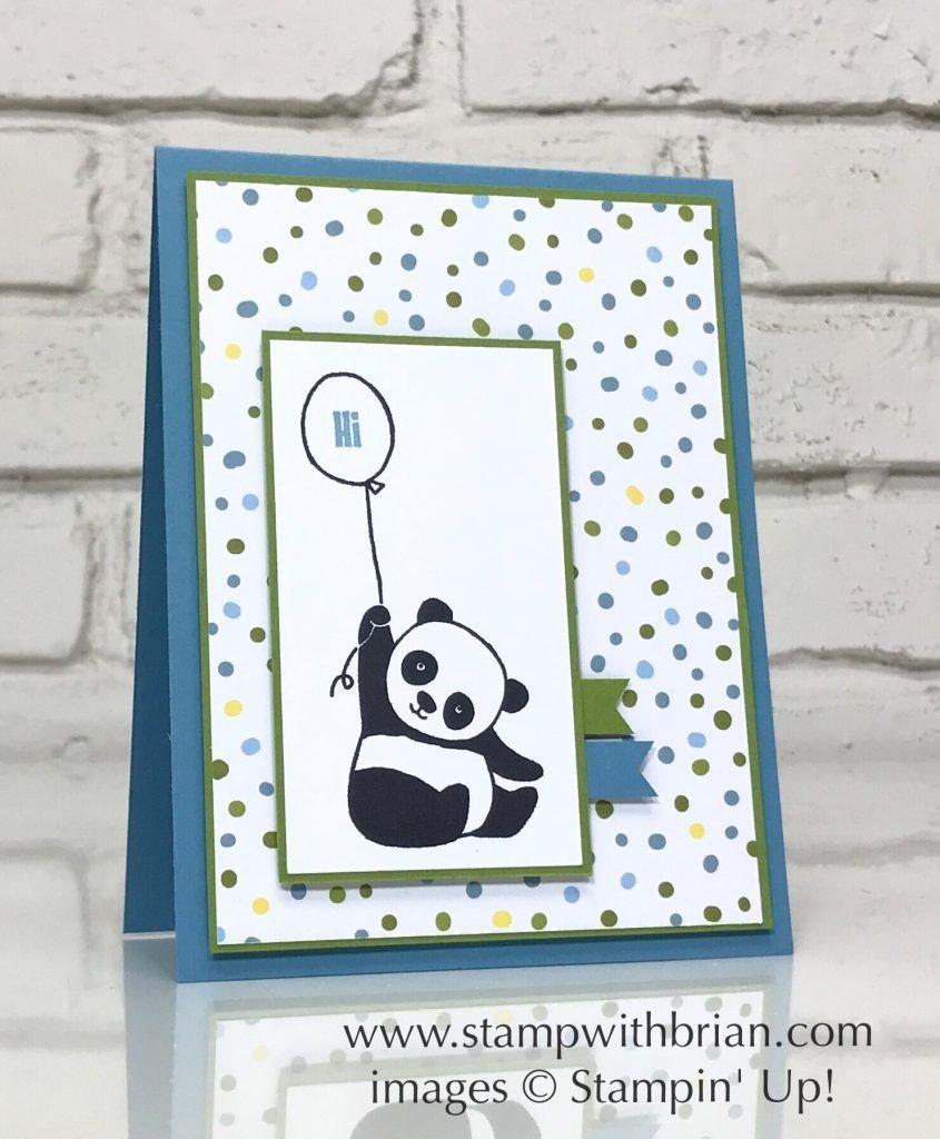 Papercraft Panda Party Pandas Sweet soirée Specialty Designer Series Paper Stampin
