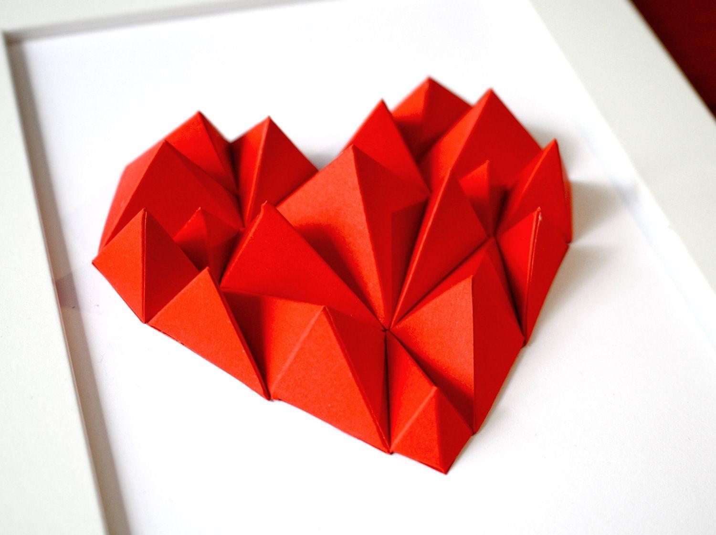 Papercraft Paper Diy Paper Heart by Alta Papercraft Make It Pinterest