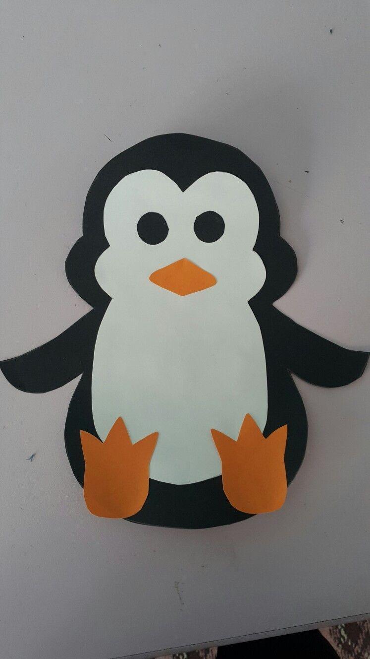 Papercraft Penguin Penguen Penguenler Pinterest