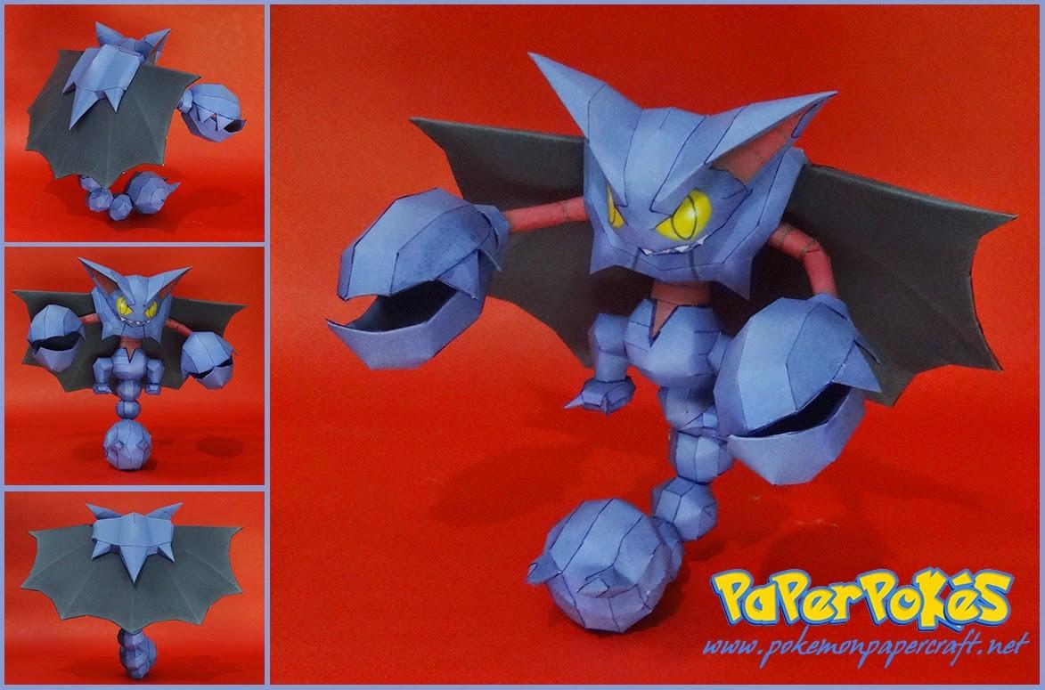 Papercraft Pokemon Charizard Paperpokés Pokémon Papercraft 2014