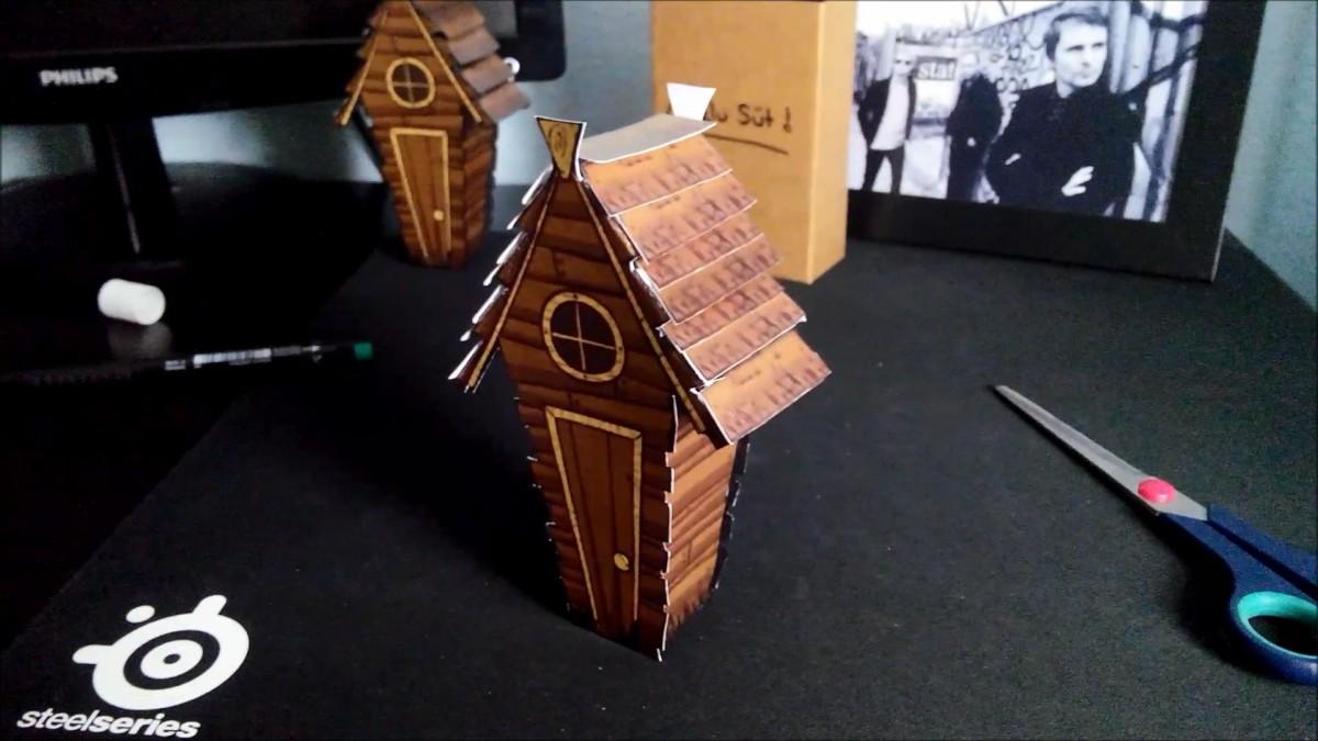 Papercraft Portal Gun Paperkraft Free Papercraft Paper Model & Papertoy Don T