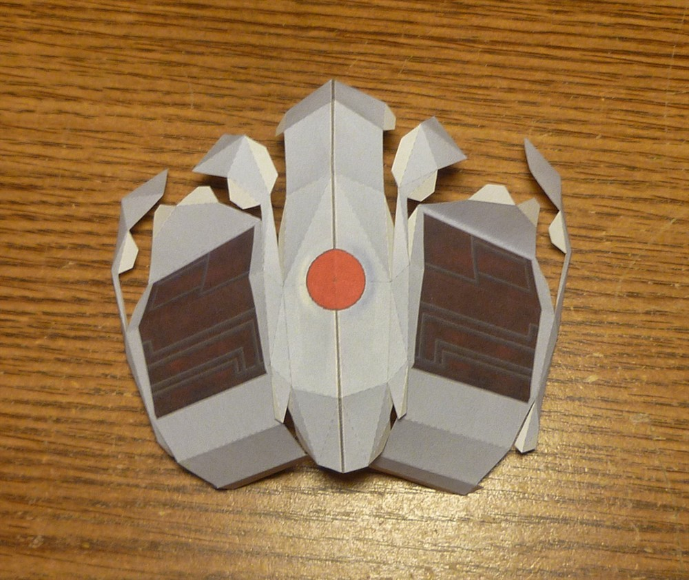 Papercraft Portal Portal Turret Papercraft Führer Gunook