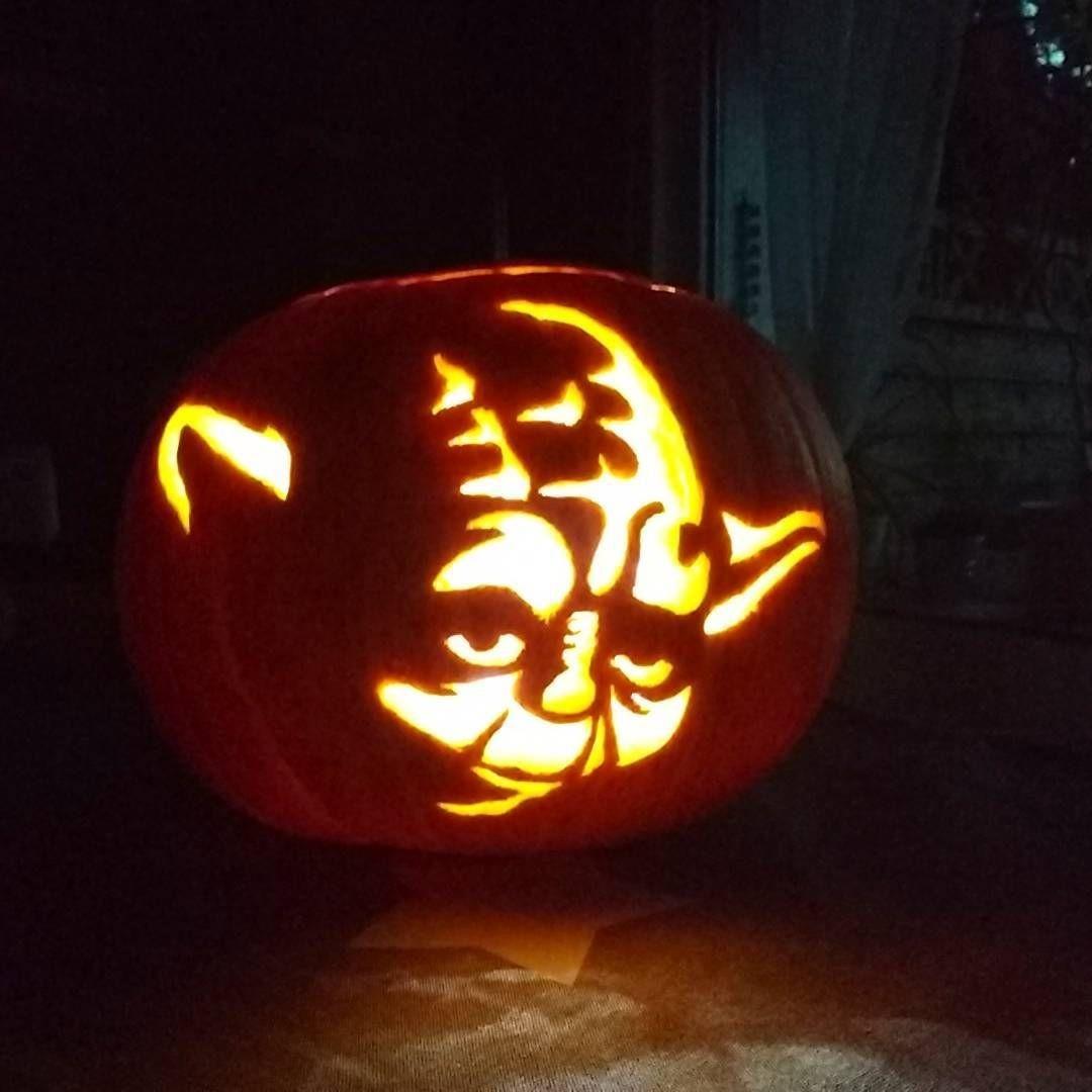 Papercraft Pumpkin Möge Macht Mit Euch Sein Mein Mann Hat Fertig Geschnitzt