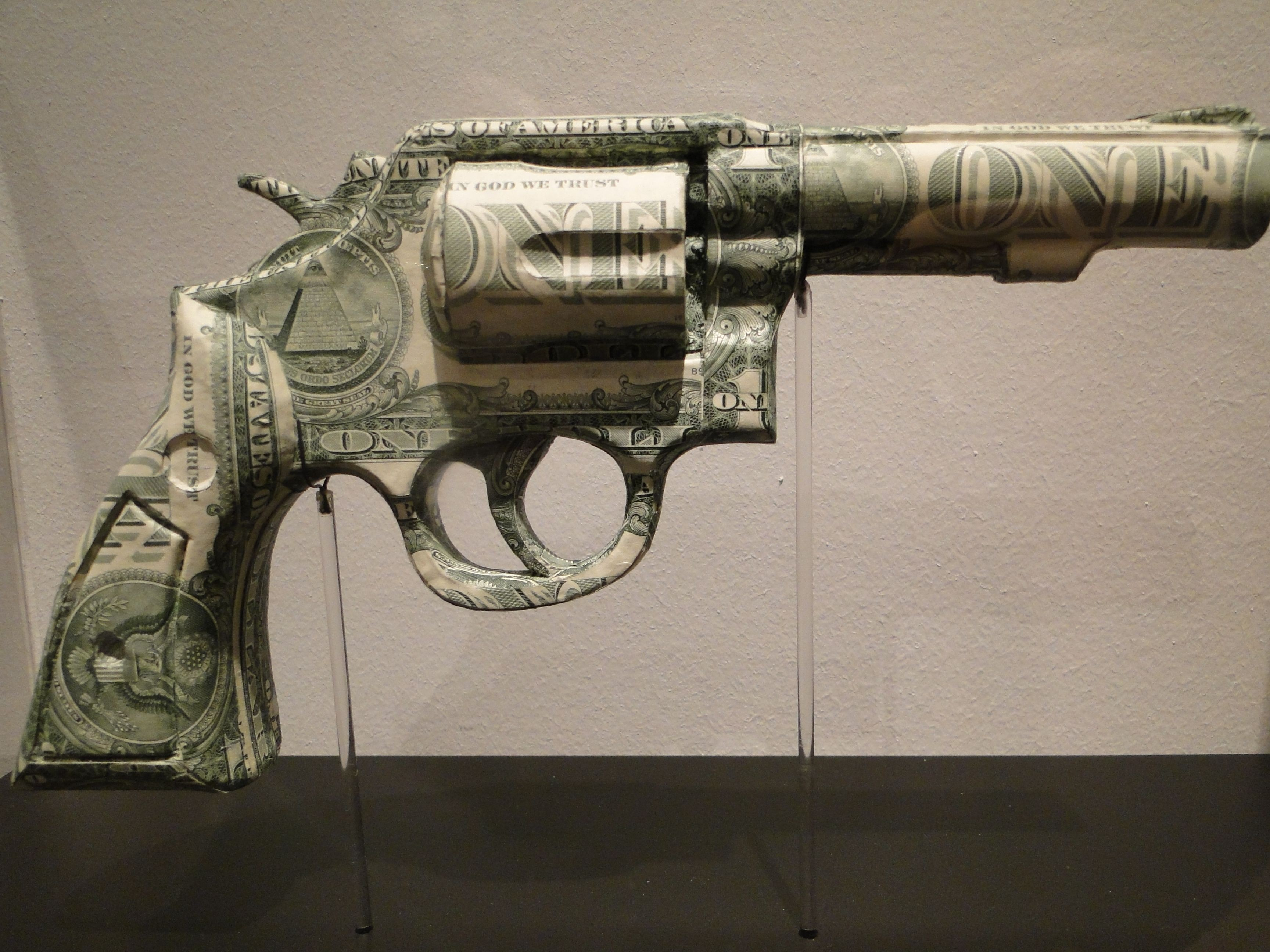 Papercraft Revolver the Judge 2011 by Justine Smith
