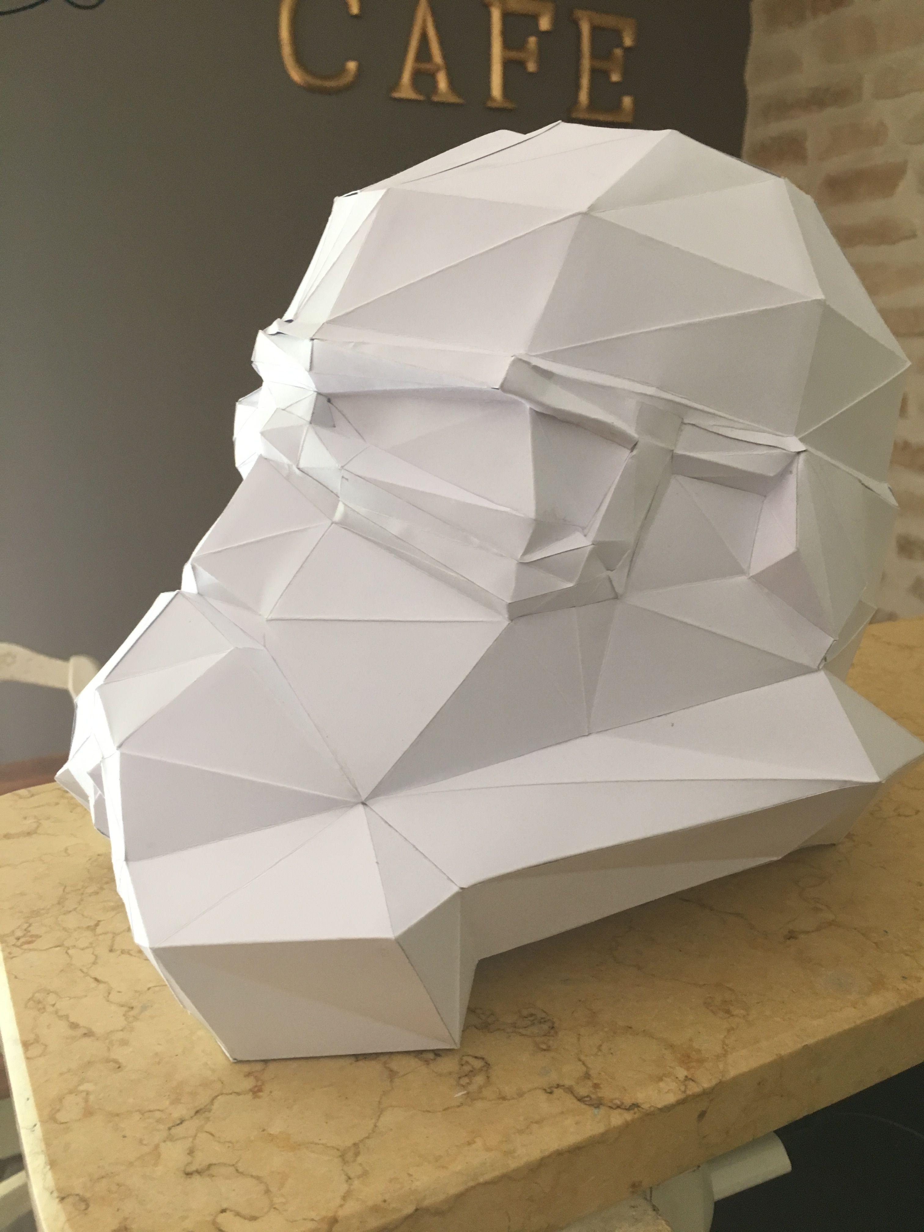 Papercraft Stormtrooper Stormtrooper Papercraft La Guerre Des étoiles Star Wars