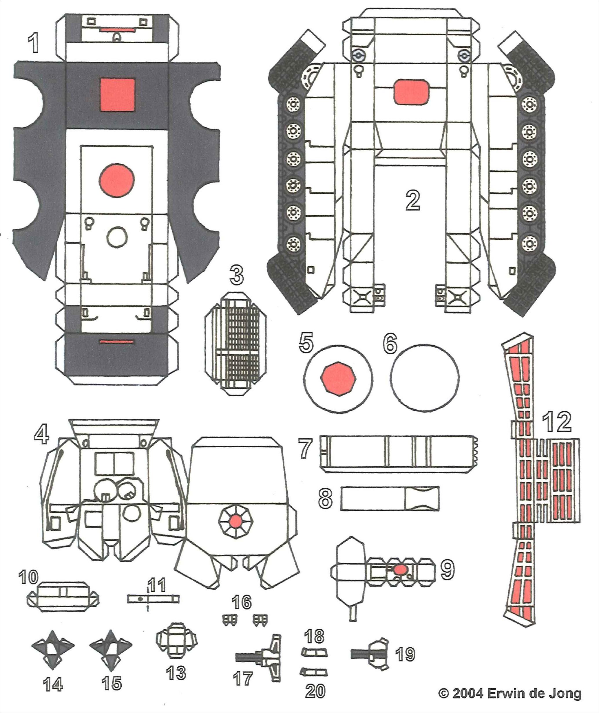 Papercraft Tank Download Tank Papercraft Free