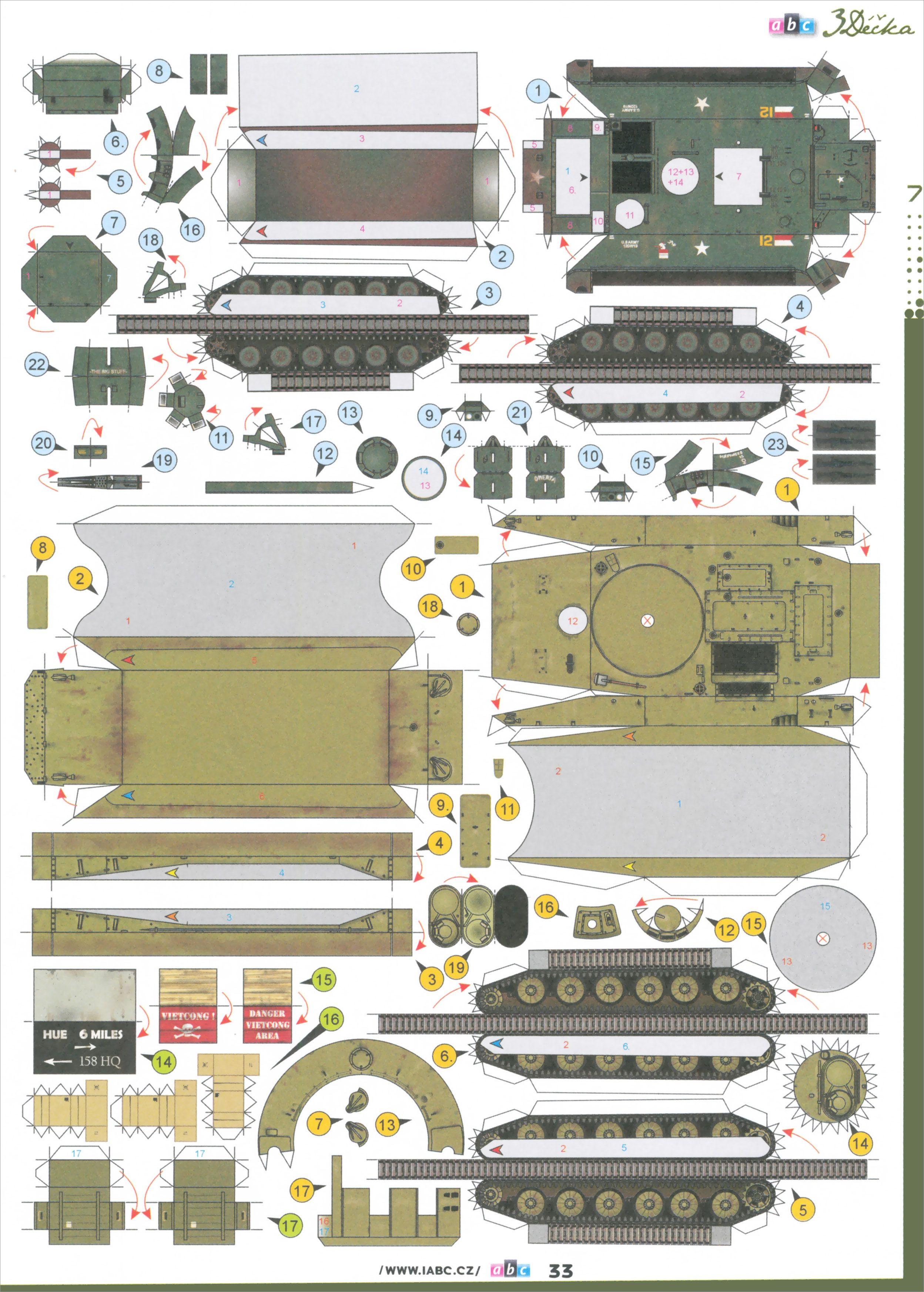 Papercraft Tank Free Download Tank Papercraft