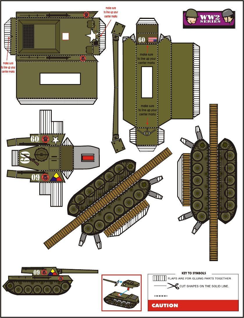 Papercraft Tank Free Tank Papercraft Download