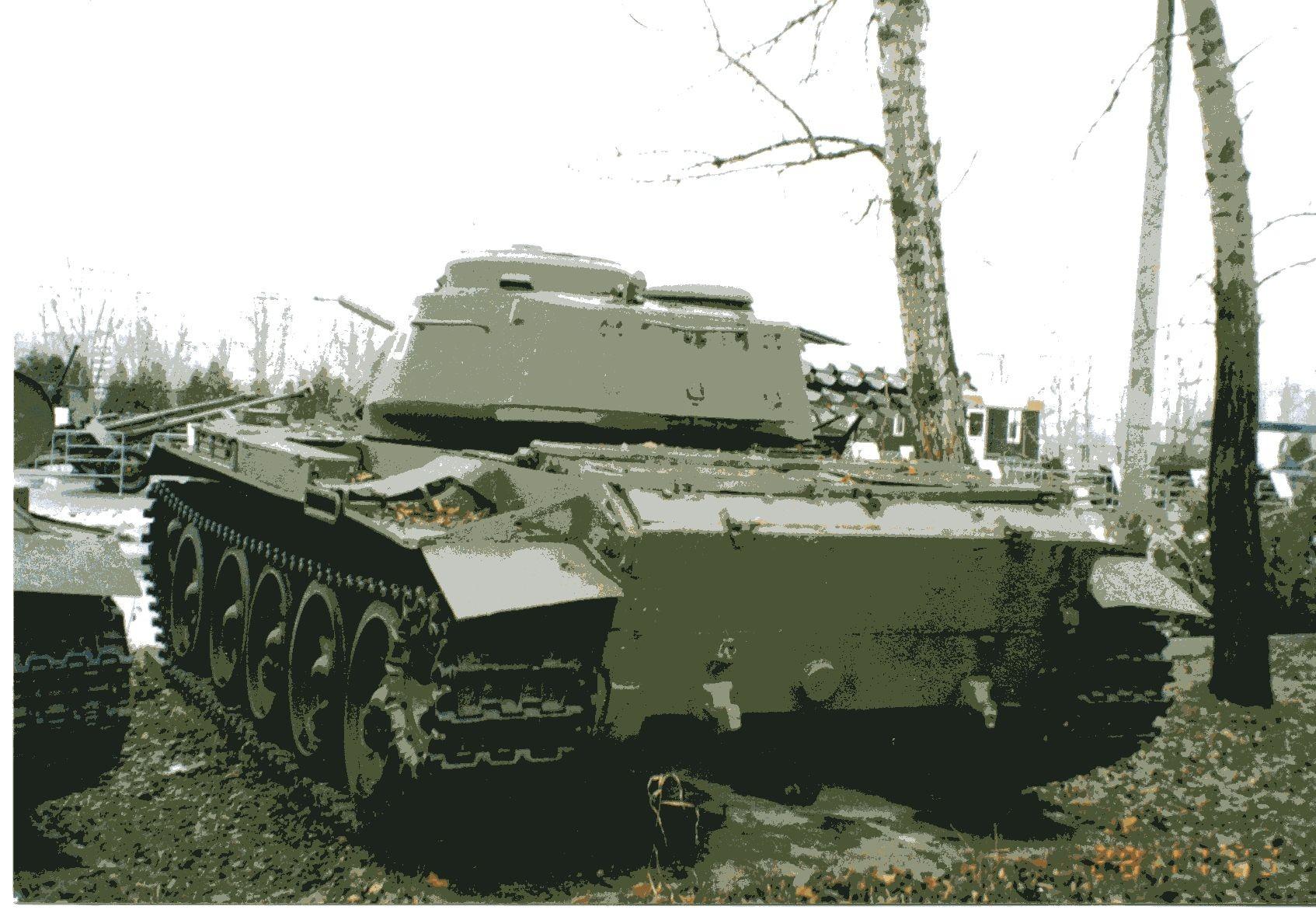 Papercraft Tank T 44 soviet Medium Tank In Moscow Victory Park Tank