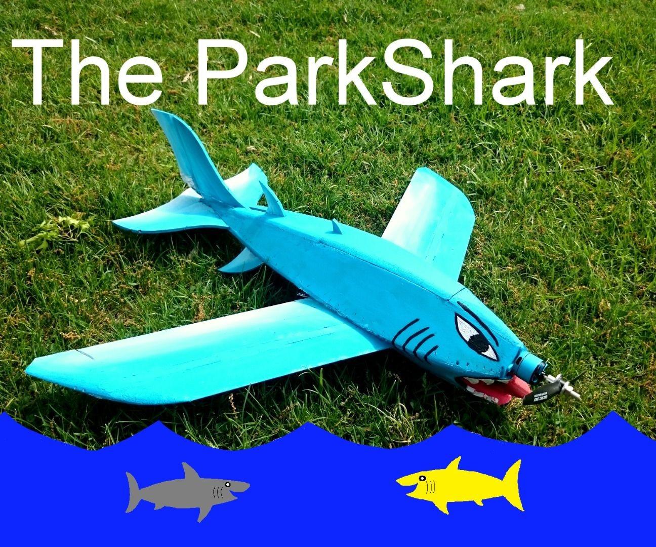 Plane Papercraft the Great Blue Parkshark Rc Airplane