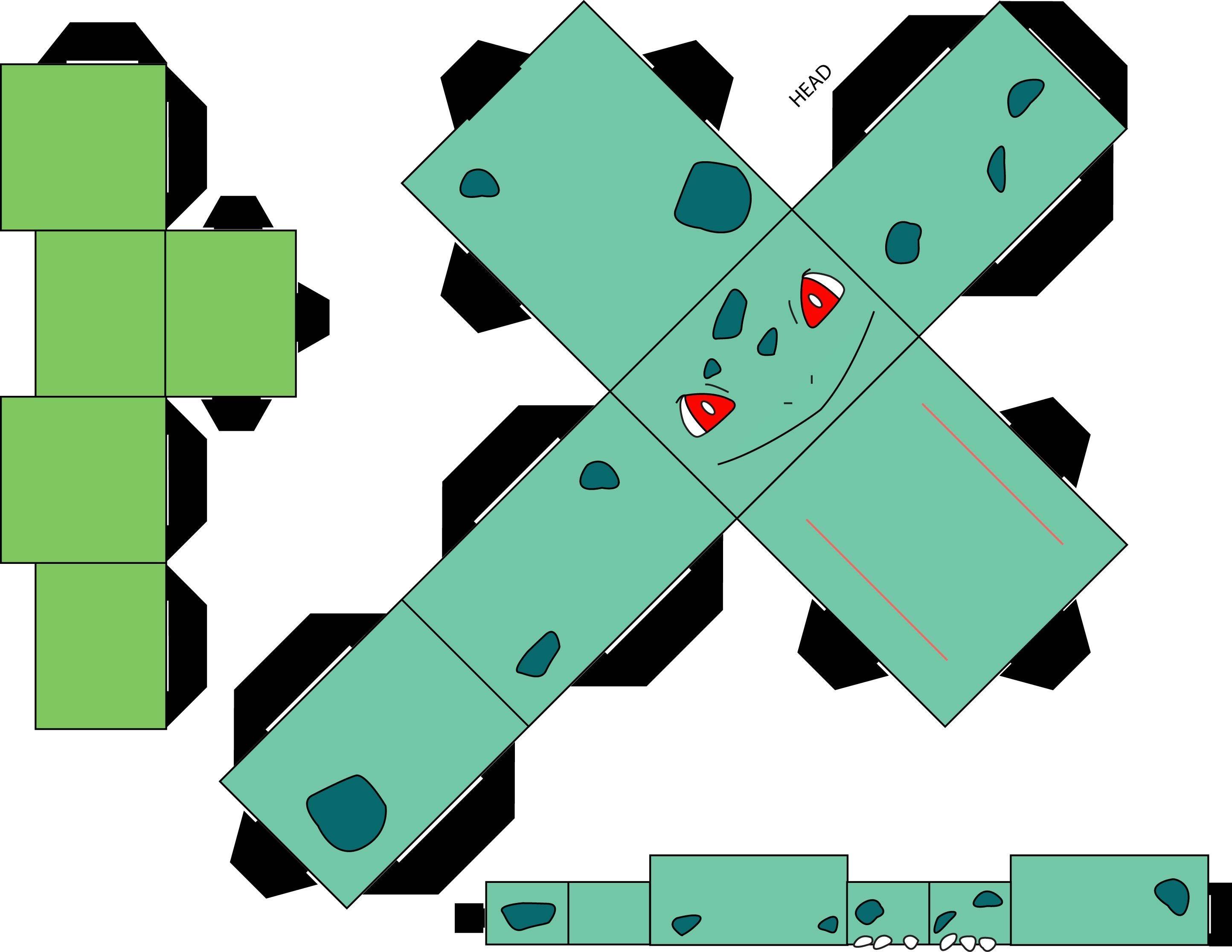 Pokemon Papercraft Pokemon 001 Bulbasaur by Straffehond D35l3oy 2 888—2 232