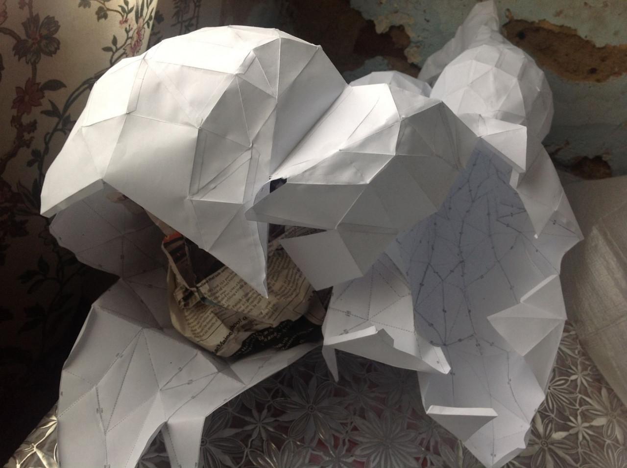 Portal Papercraft Facettierter Papercraft Curvaceous Edition Bonus Gunook