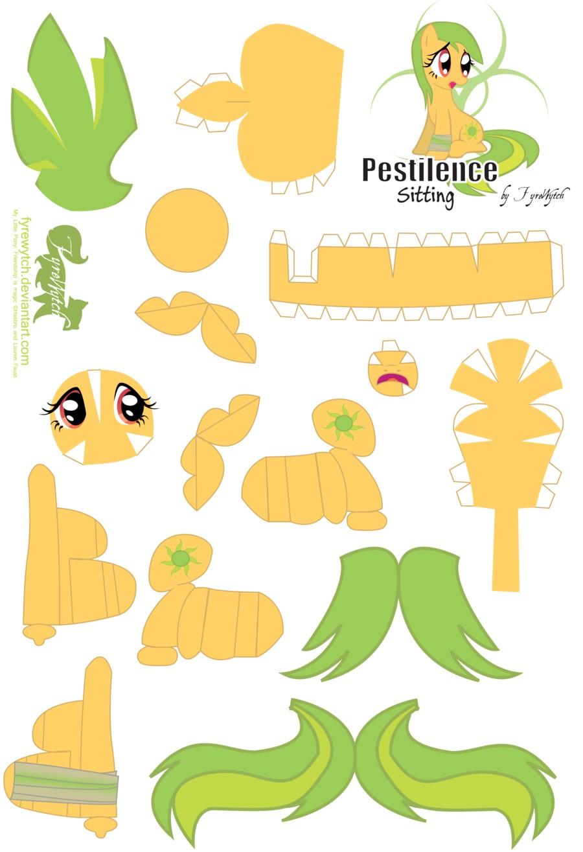 Princess Papercraft My Little Pony Papercraft Google Search Bouwplaten