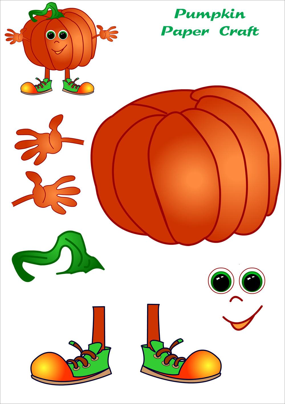 Pumpkin Papercraft Pumpkin Papercraft Free Download