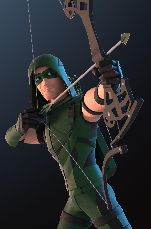 Sackboy Papercraft Green Arrow Superheroes Pinterest