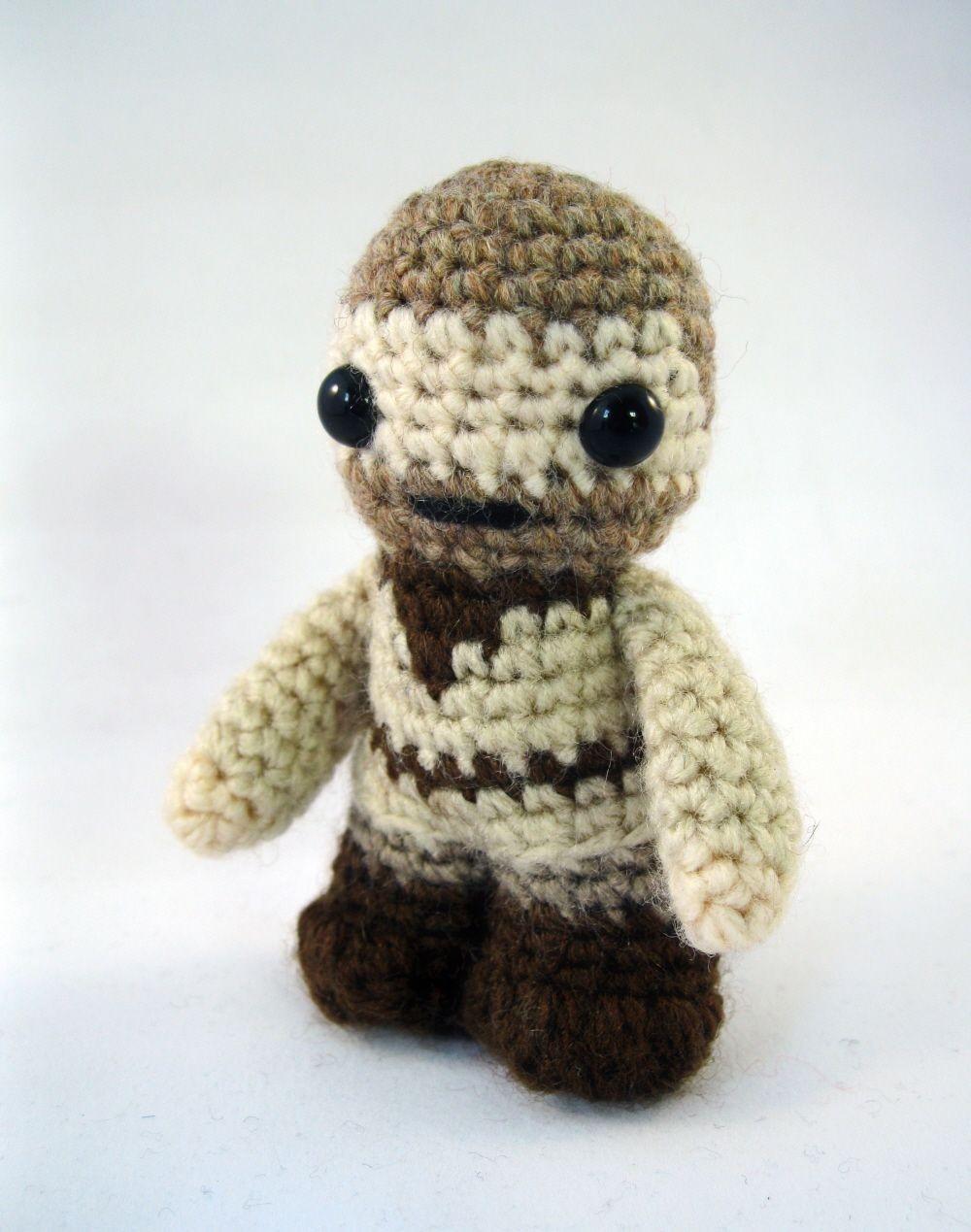 Sackboy Papercraft Lucyravenscar Crochet Creatures Obi Wan Kenobi Mini Amigurumi