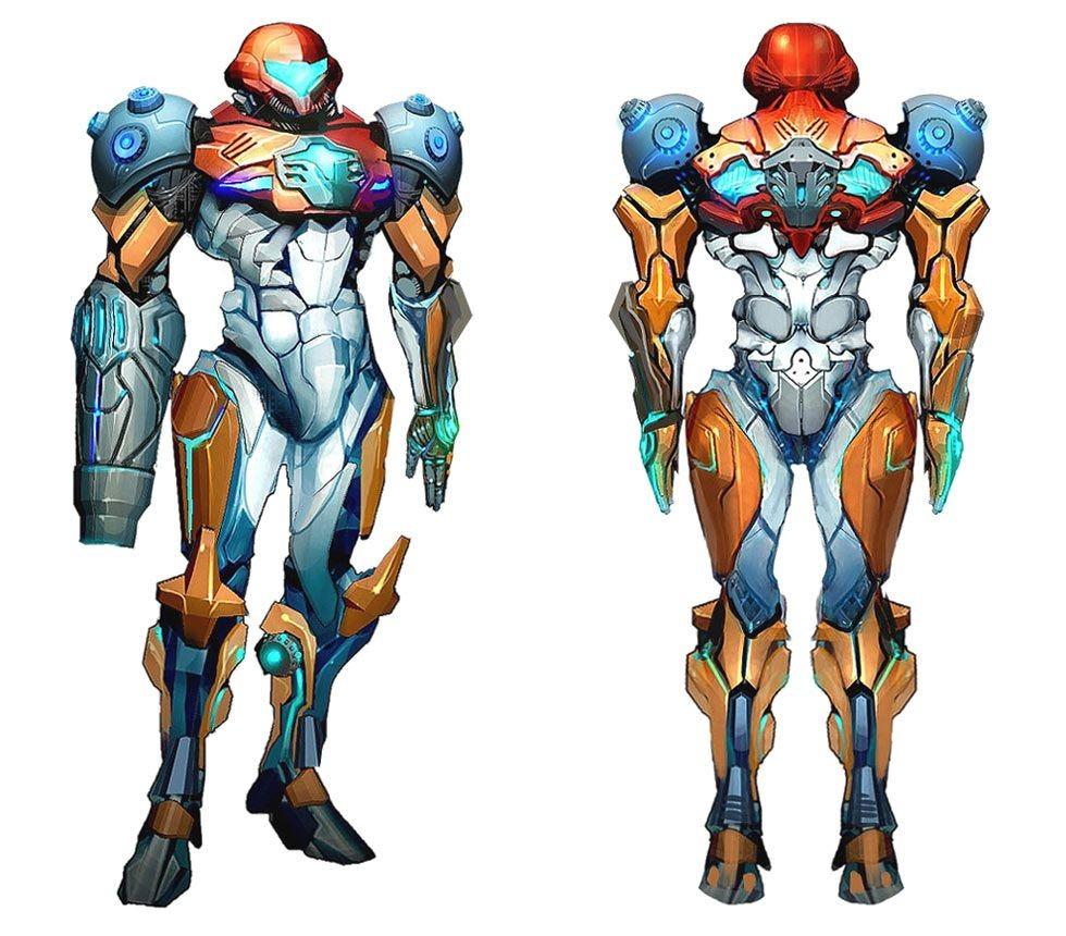 Samus Papercraft Samus Ped Suit Design