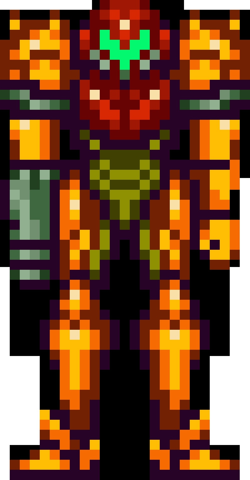 Samus Papercraft Super Metroid Samus Aran Varia Suit 1