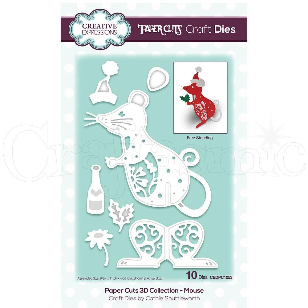Santa Papercraft Creative Expressions Creative Expressions Craft Dies Paper Cuts