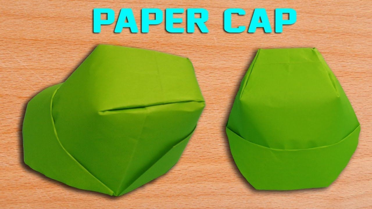Simple Papercraft How to Make A Paper Cap Diy origami Hat Making Simple and Easy