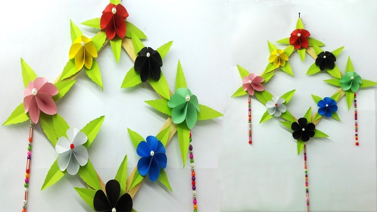 Simple Papercraft How to Make Easy Paper Flower