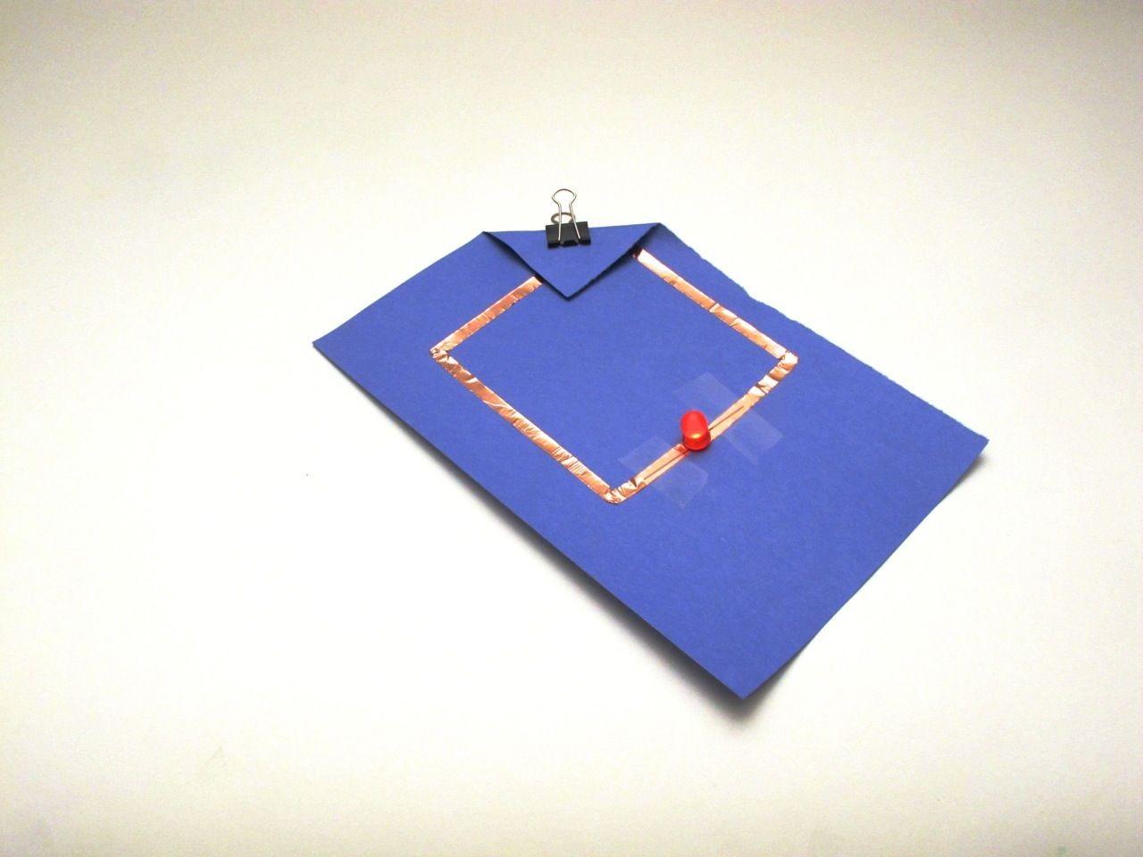 Simple Papercraft Simple Paper Circuit