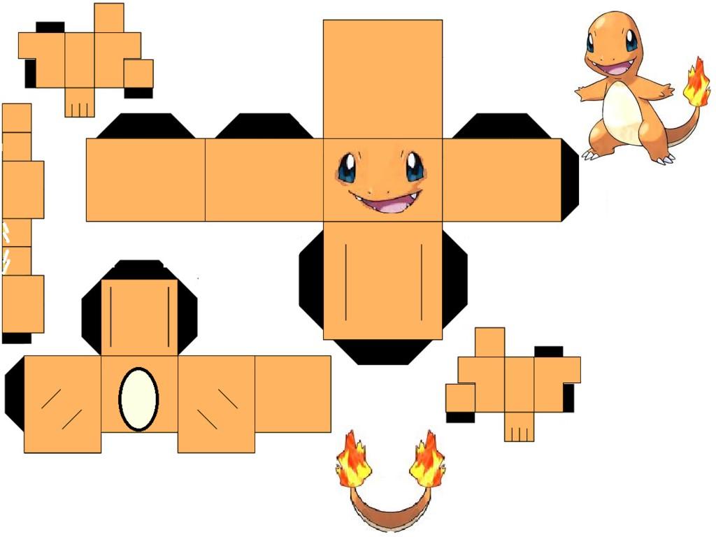 Simpsons Papercraft Pokemon Papercraft Pesquisa Google Tylers Crafts