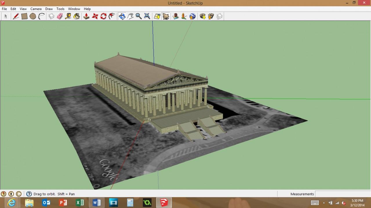 Sketchup Papercraft Wie Man Ein to Scale Modell Des Parthenon In Griechenland Macht Gunook