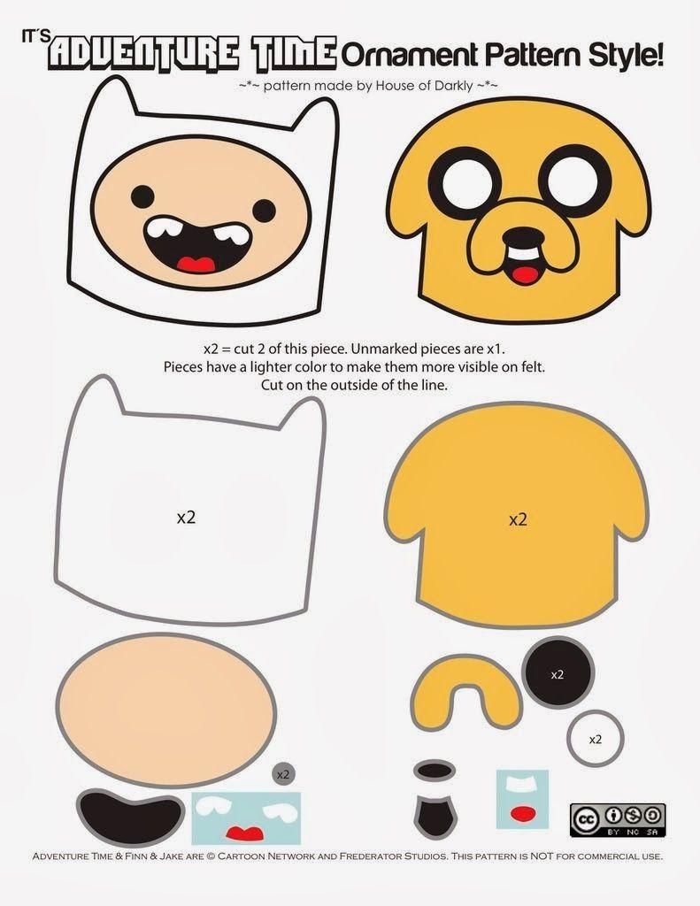 Snorlax Papercraft De Aventura Finn E Jake