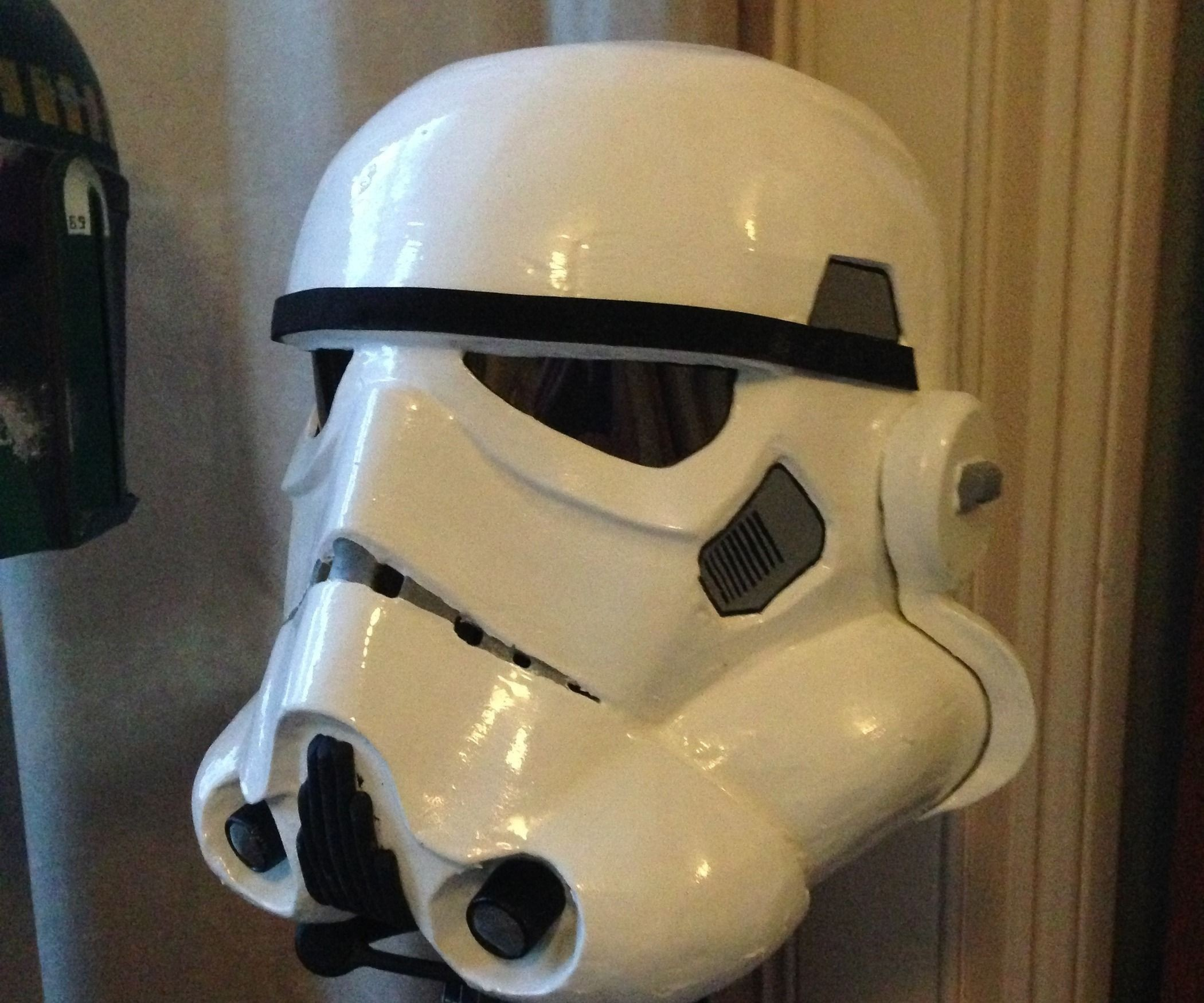 Stormtrooper Papercraft Helmet Stormtrooper Helmet On A Bud
