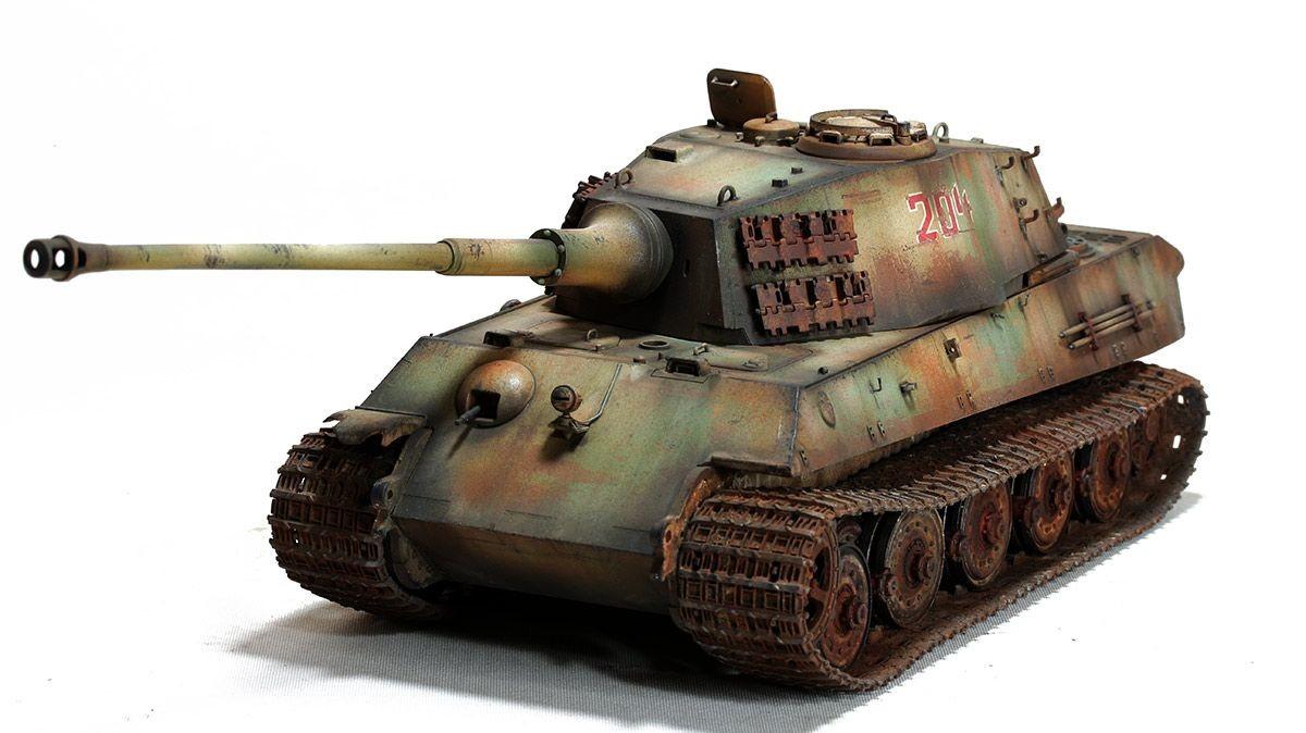 Tank Papercraft King Tiger Tamiya 1 35 Page 4 Miejsca Do Odwiedzenia